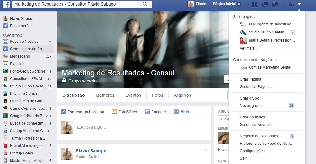 Página Facebook para Empresas 02