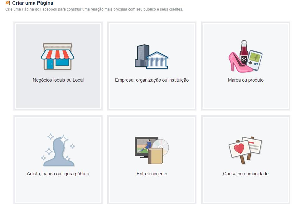 Página Facebook para Empresas 03