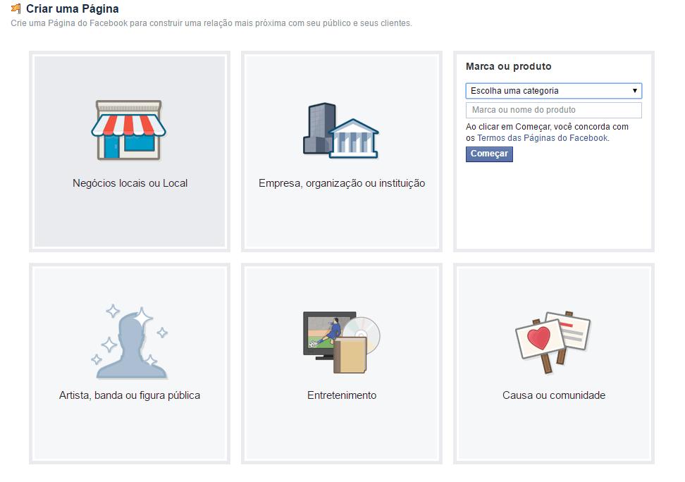 Página Facebook para Empresas 04
