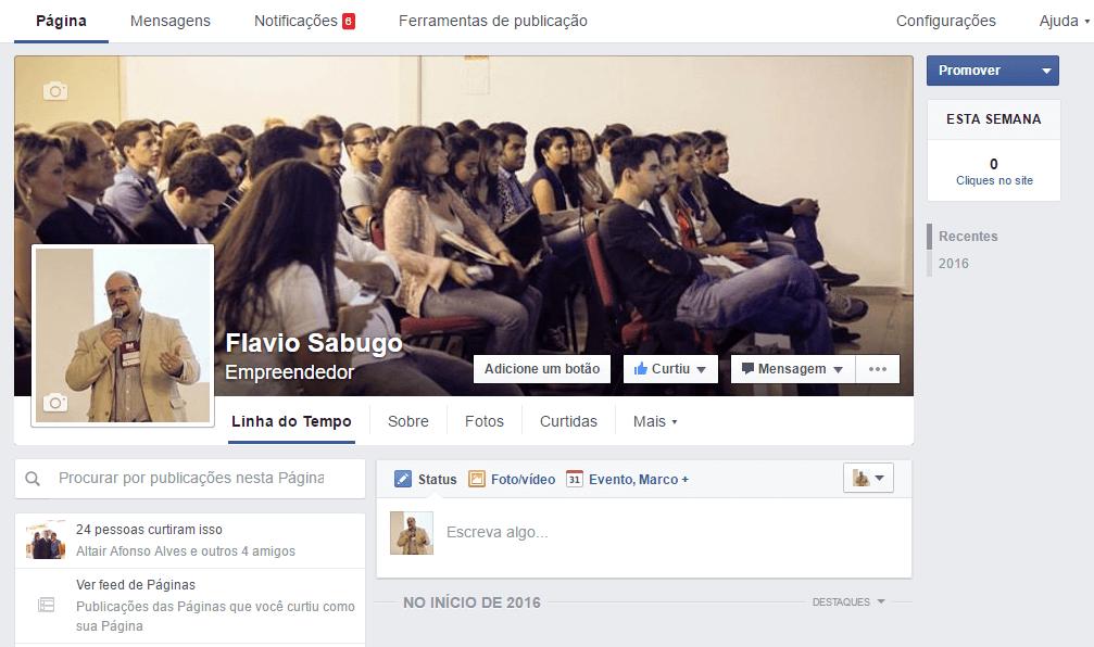 Página Facebook para Empresas 06